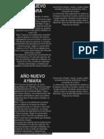Año Nuevo Aymara