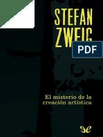 Zweig, Stefan (1940) - El Misterio de La Creación Artística
