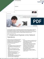 IT Infrastructure Engineer - EOS