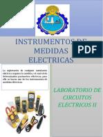 LAB N° 01 INSTRUMENTOS DE MEDIDAS ELECTRICAS