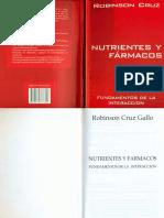 Nutrientes y Fármacos Fundamentos de La Interacción - Robinson Cruz