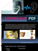 Sistema Auditivo Diapositivas