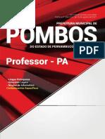 Prefeitura de Pombos Pe Professor Pa