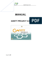 Manual GanttProject