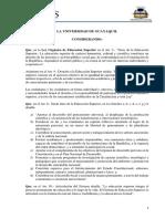 Reglamento Aval Académico UG