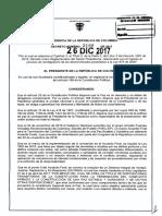 Decreto 2199 Del 26 de Diciembre de 2017