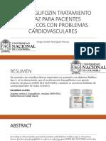 El Empaglifozin Tratamiento Eficaz Para Pacientes Diabéticos Con Problemas Cardiovasculares