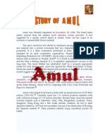 project report on marketing of Amul