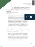 E ntre la acumulación primitiva y la reproducción ampliada. Una reactualización del debate y su correlación con la explicación de los conflictos sociales en América Latina (Guido Galafassi)
