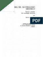 Teoría Del Materialismo Histórico - Bujarin