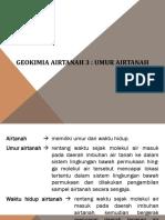 Geokimia Airtanah 3