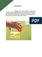 Efectos Del Alcohol y El Tabaco