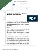 Radio Vijaer - Comunicacion en Publico Estrategia Para Informar