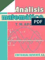 Análisis matemático - Tom M. Apostol-.pdf