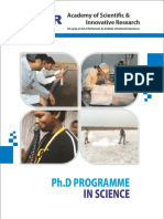 Brochure PhD Science
