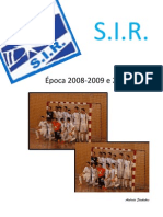 SIR - Época 2009-2010 (Incompleto)