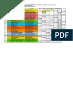 Horario 2014 II Plan Antiguo Final