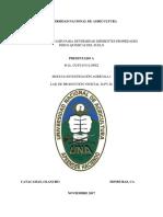 Diagnósticos en campo para determinar diferentes propiedades físico-químicas del suelo