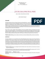 El Estado Del Bullying en El Peru - Julio Cesar Carozzo