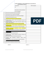 Daftar Tilik Audit Internal Upt Puskesmas Fajar Mulia