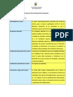 Evaluación de La Acción Uno.