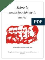 Sobre La Emancipación de La Mujer- Marx, Lenin, Engels, Mao