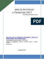 Informe de Actividad de la provincia de Buenos Aires – II trimestre 2017