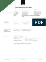 BRASSCLOTH Specification Sheet