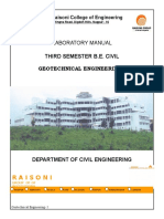 Soil 1 Practicals