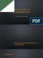 Derecho de La Competencia X-SEGUNDO PARCIAL