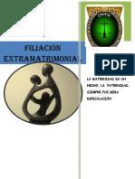 filiacion extramatrimonial
