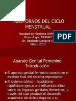 4-Ciclo Menstrual y Sus Trastornos-Dr.donayre 13-03-12
