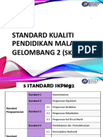 Evidens Pelaksanaan Skpmg2 - Standard 1 Hingga 4