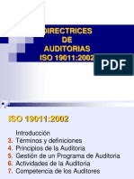 Directrices Auditorias Iso 19011 Rev1