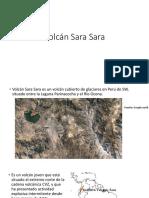 Volcan Sara Sara Ppt