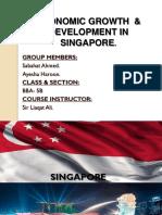 Economic Growth Development in Singapore
