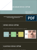 Penatalaksanaan Deviasi Septum