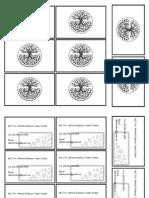 Tarjeta de Presentacion Blanco y Negro