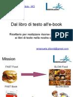 Dal libro di testo all'e-book
