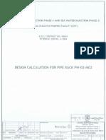 Pipe Rack Design Report