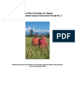 New Rice Var Nepal