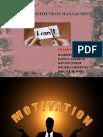Ltm Ppt on Motivational Theories