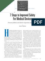 7 Pasos Para Mejorar La Seguridad en Dispositivos Medicos
