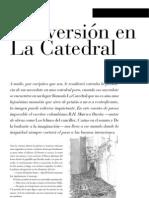 CINVERSIÓN EN LA CATEDRAL (CUENTO)