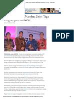 10. PT Jamkrida Bali Mandara Sabet Tiga Penghargaan Nasional - Tribun Bali
