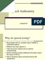 Speech Audiometry BB 2015