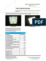 Lighting Wattage Guide