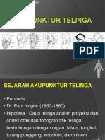 Akupunktur Telinga
