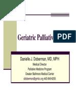 Danielle Doberman Geriatric Palliative Care