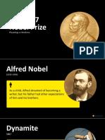 Slideshow Medicine NobelPrizeLessons 2017
